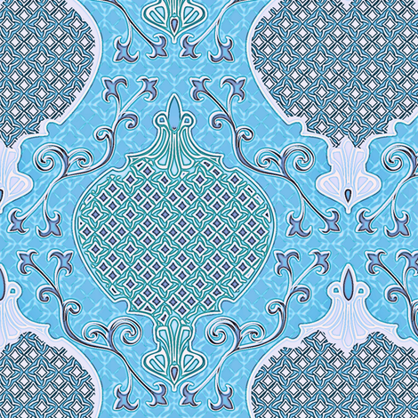 romano 21 fabric by glimmericks on Spoonflower - custom fabric