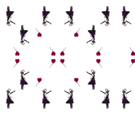 balloongirlcopy_copy-ch fabric by randibarry on Spoonflower - custom fabric