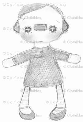 Little Raggedy Fabric 01