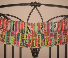 Funky Advent Bag Garland Kit