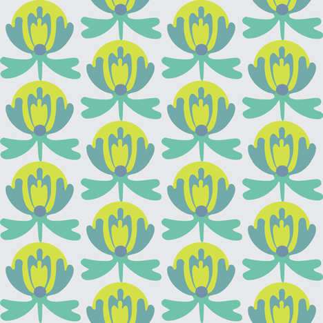 lilli_aquarius fabric by lilliblomma on Spoonflower - custom fabric
