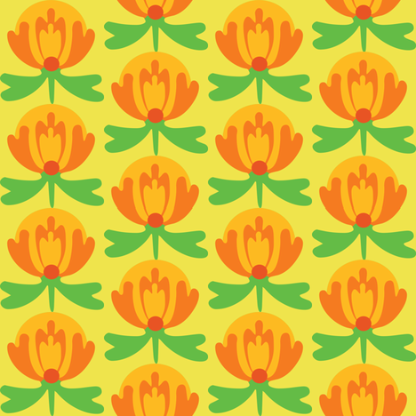 lilli_citrus fabric by lilliblomma on Spoonflower - custom fabric