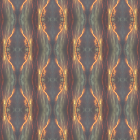 Horizon Half Drop fabric by gimlet on Spoonflower - custom fabric