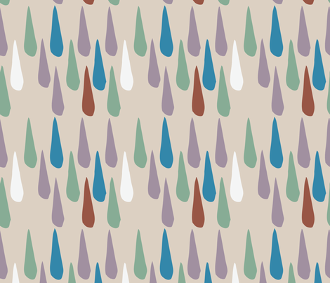 Vertical Pod Drops fabric by gsonge on Spoonflower - custom fabric