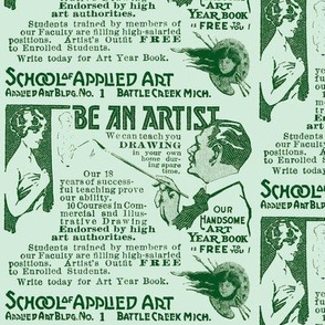 Be An Artist 1918 Advertisement