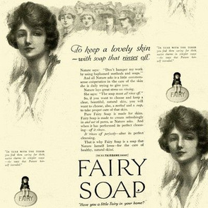 1918 Fairy Soap Beauty Advertisement
