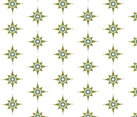 Fun Star fabric by brainsarepretty on Spoonflower - custom fabric