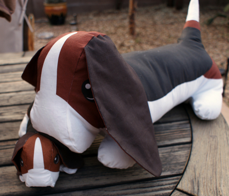 Wilbur the Basset Hound Large Stuffie