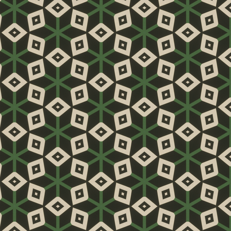 Vintage Tree fabric by stoflab on Spoonflower - custom fabric