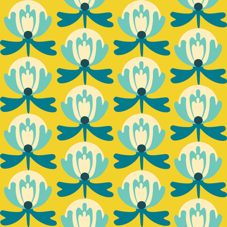 lilli_honeywater fabric by lilliblomma on Spoonflower - custom fabric