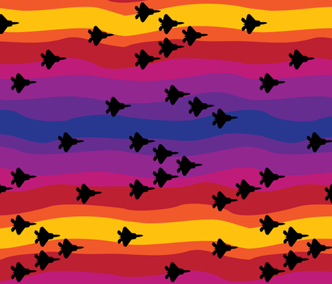 Air Superiority fabric by robyriker on Spoonflower - custom fabric