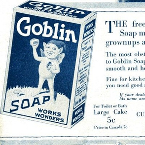 1918 Goblin Soap advertisement