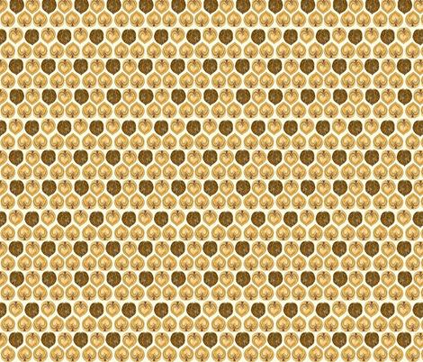 Nuts Full of Hearts fabric by maxje on Spoonflower - custom fabric