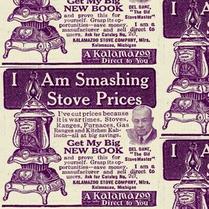 KalamaZoo Direct to You 1918 pot belly stove ad