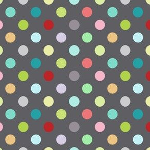 Playground dots in grey