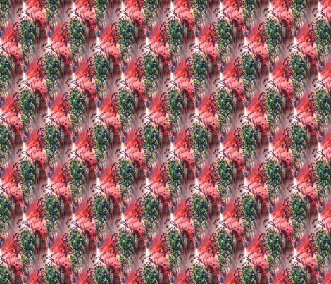 green_and_red__dry_flowers__seamless fabric by vinkeli on Spoonflower - custom fabric