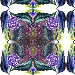 purple_painted_flower_tiled
