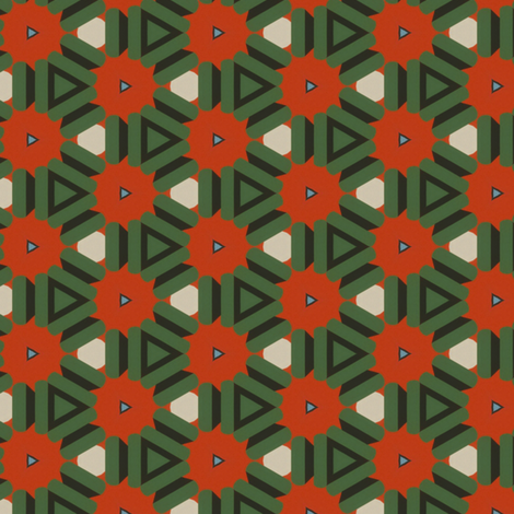 Vintage Winter fabric by stoflab on Spoonflower - custom fabric