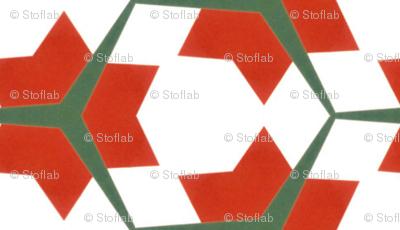 Vintage Red Stars
