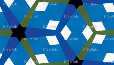 Blue & Green Mosaic