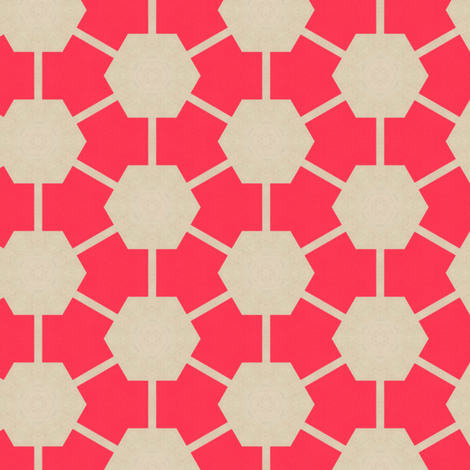 Retro Pink Hexagons