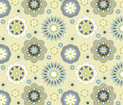 Bella 5 fabric by yuyu on Spoonflower - custom fabric