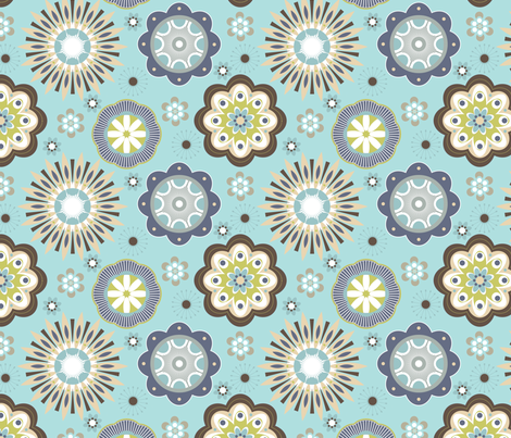 Bella 6 fabric by thepatternsocial on Spoonflower - custom fabric