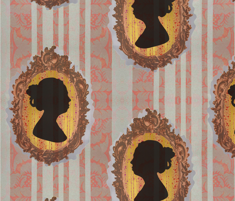 Inheritance Cameo fabric by melissa_haviland on Spoonflower - custom fabric