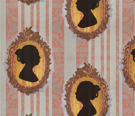 Inheritance Cameo fabric by melissa_haviland on Spoonflower - custom fabric