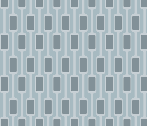 Gray Mod Pods fabric by brainsarepretty on Spoonflower - custom fabric