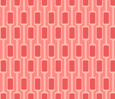 Pink Mod Pods fabric by brainsarepretty on Spoonflower - custom fabric