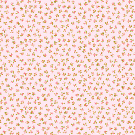 Pink Roses micro print fabric by joanmclemore on Spoonflower - custom fabric