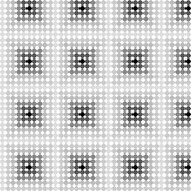 Black and white dots smaller print