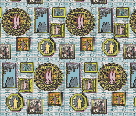 cameo_modern fabric by taramariebee on Spoonflower - custom fabric