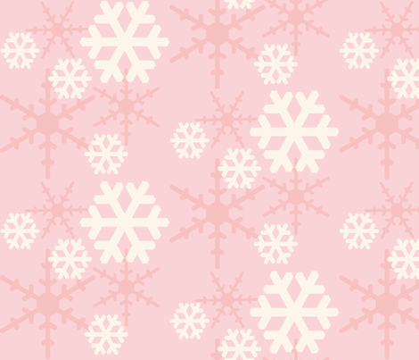 Fanciful Flakes fabric by theladyinthread on Spoonflower - custom fabric