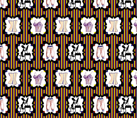 Frillies fabric by glanoramay on Spoonflower - custom fabric