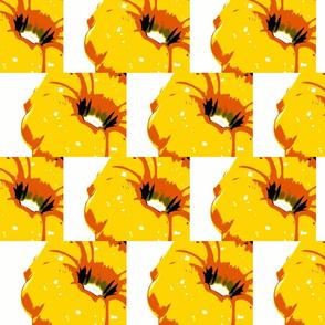 Retro Yellow Bundt Cake Pans