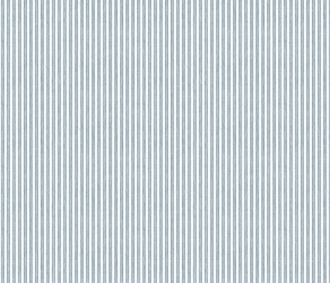 Faded French Stripe - Blue fabric by kristopherk on Spoonflower - custom fabric