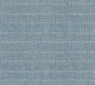 Faded French Linen - Blue