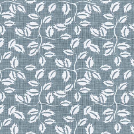Faded French Rose Leaves - Blue fabric by kristopherk on Spoonflower - custom fabric