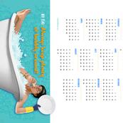 Rula's Rules #114 calendar towel