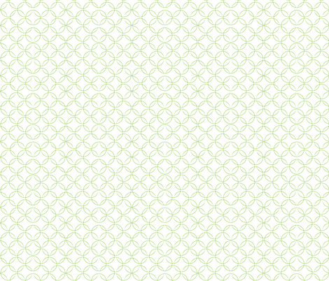 christmas_butterfly_circles_green fabric by wendyg on Spoonflower - custom fabric