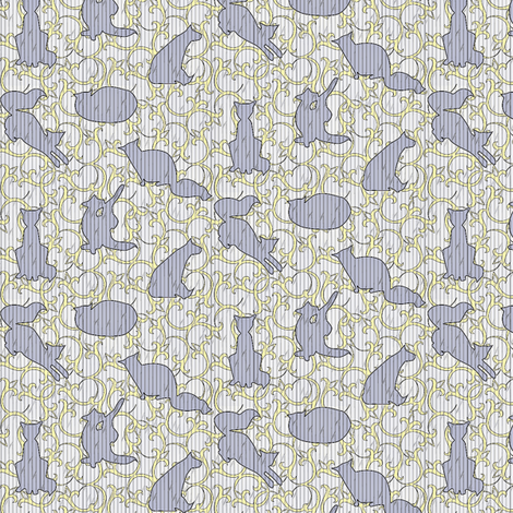 catrobatics 3 fabric by glimmericks on Spoonflower - custom fabric