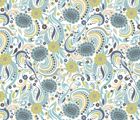 Bella 4 fabric by yuyu on Spoonflower - custom fabric