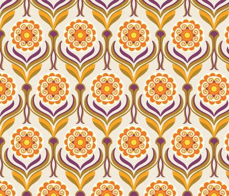 Retro Lounge 3 fabric by yuyu on Spoonflower - custom fabric