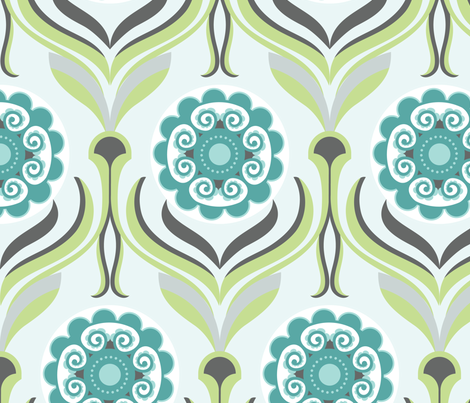 Retro Lounge 4 fabric by yuyu on Spoonflower - custom fabric