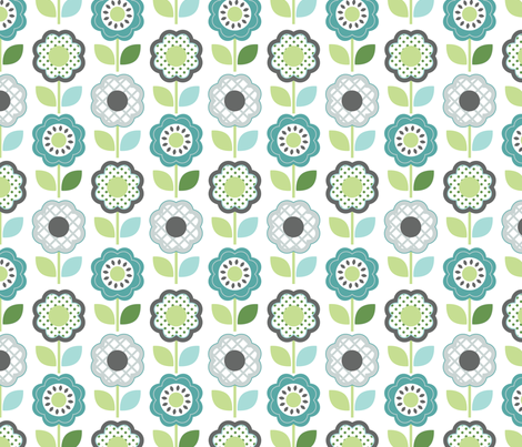 Retro Lounge 5 fabric by yuyu on Spoonflower - custom fabric