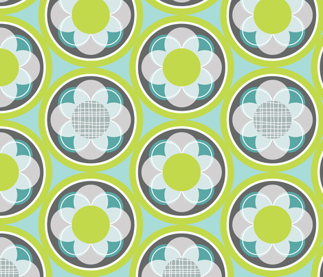 Retro Lounge 8 fabric by yuyu on Spoonflower - custom fabric