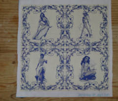 China pinup tiles