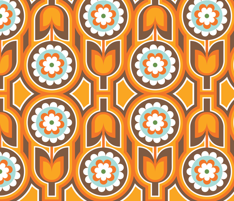 Retro Lounge 1 fabric by thepatternsocial on Spoonflower - custom fabric
